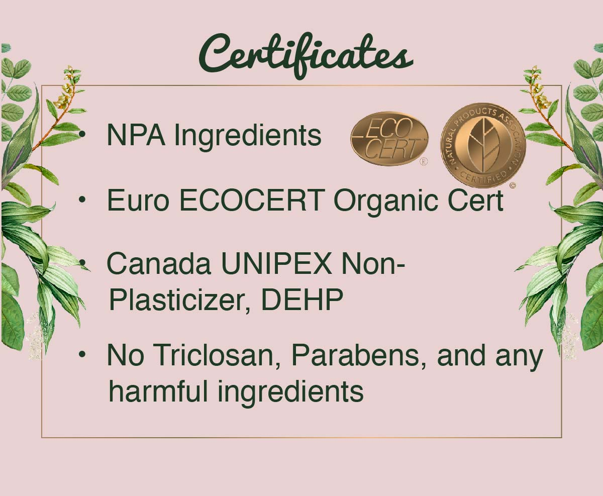 Dry Shampoo Certificate